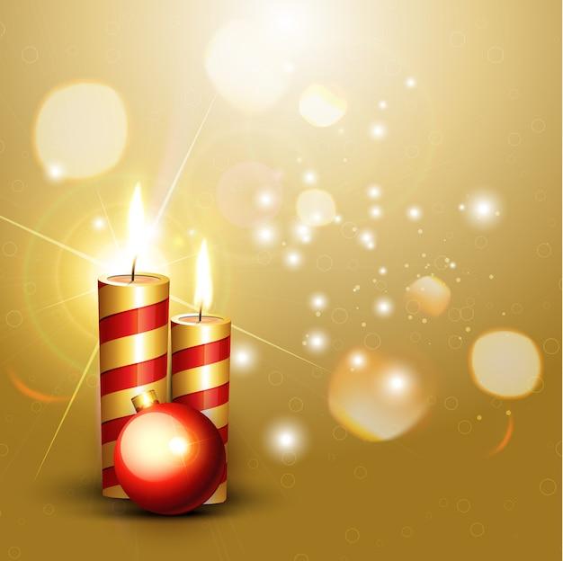 Glänzender weihnachtshintergrund