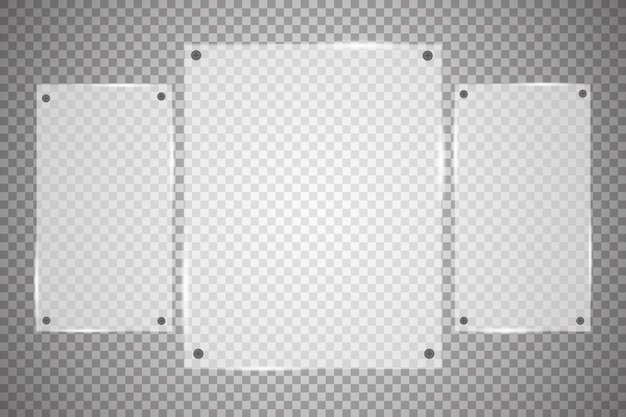 Glasplatten sind installiert