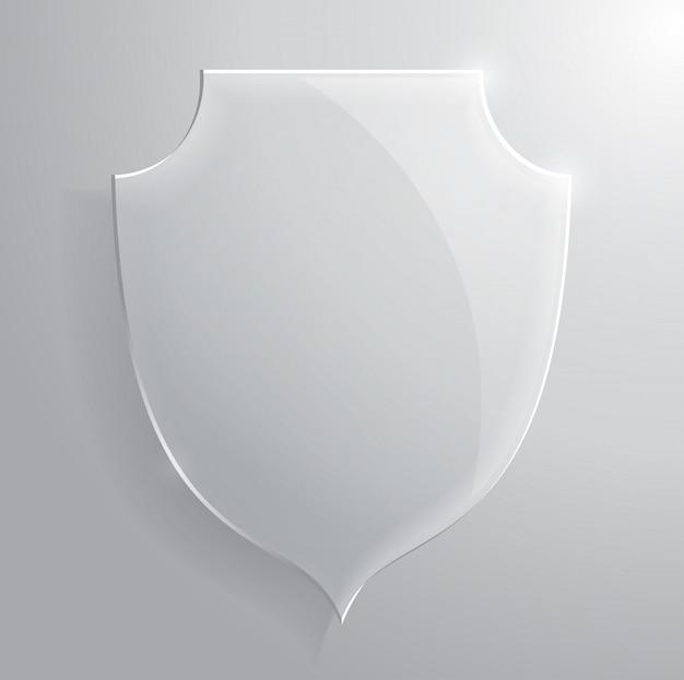 Glasscheibe transparent.