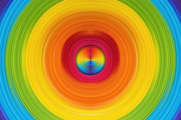 Glatte kurvige form mit dynamischer, farbenfroher lebendigkeit