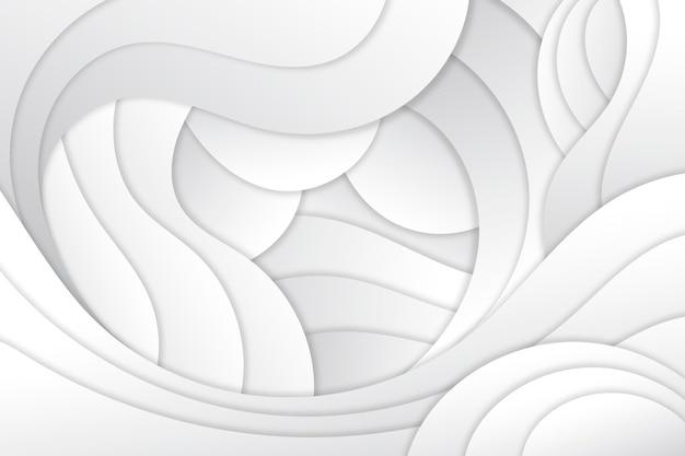 Glatter hintergrund im papierstil