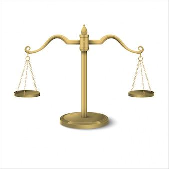 Gleichgewichtsskalen-steigungsillustration