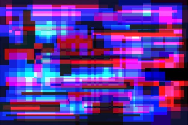 Glitch hintergrund vektor