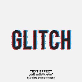 Glitch texteffekt