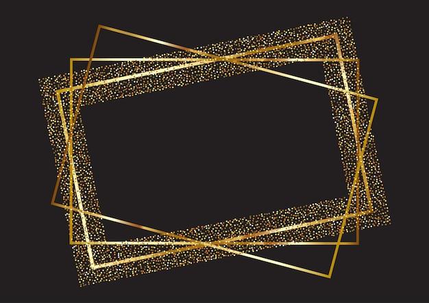 Glitter frame hintergrund