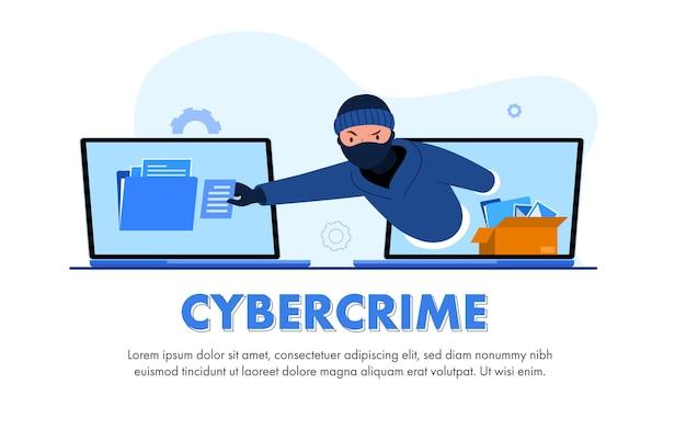 Globale datensicherheit, sicherheit personenbezogener daten, online-konzeptillustration für cyber-datensicherheit, internetsicherheit oder datenschutz und -schutz. Kostenlosen Vektoren