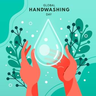 Globale feier zum handwaschtag