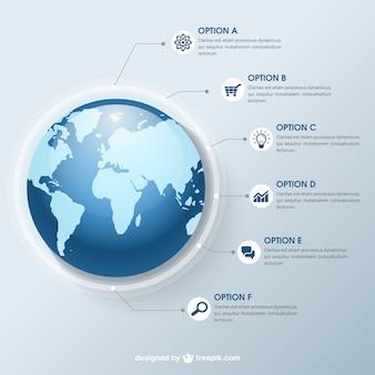 Globale infografik