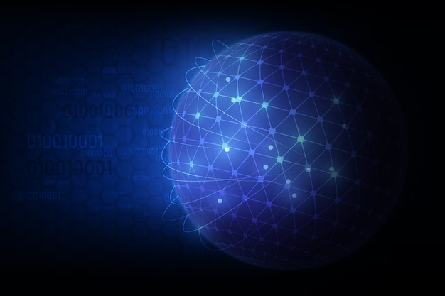 Globale internationale blockchain