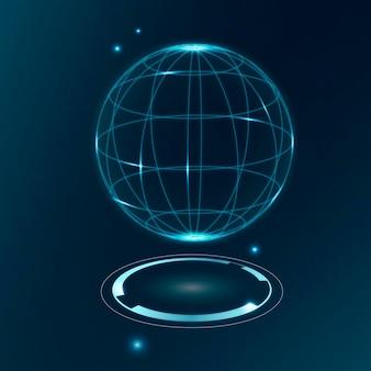 Globale kommunikationstechnologie, vektor-5g-netzwerkverbindung