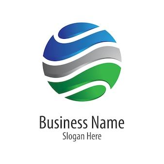 Globale logo-vorlage