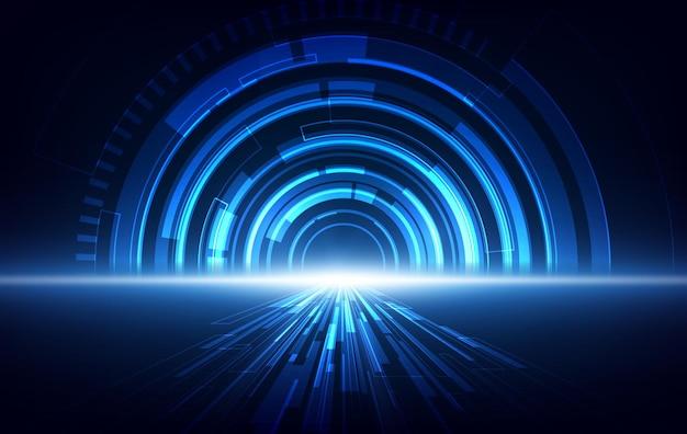 Globale netzwerkverbindung. weltkartenpunkt- und linienkompositionskonzept des globalen geschäfts. vektorillustration