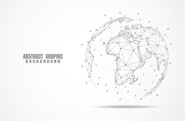 Globale netzwerkverbindung.