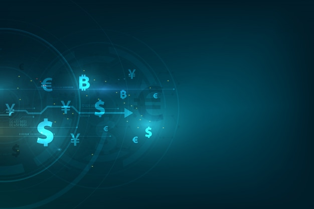 Globale währung hintergrund