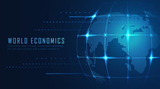 Globaler finanzieller hintergrund