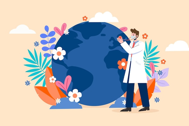 Globaler kampf gegen neuartige coronaviren