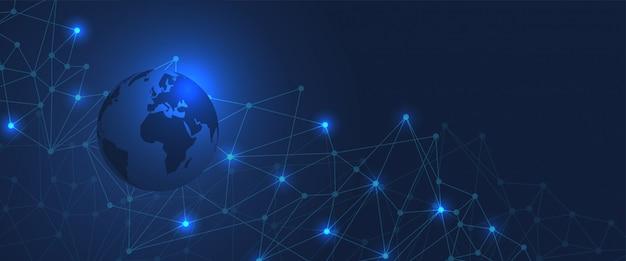 Globaler technologiehintergrund