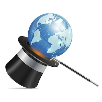 Globales geschäftskonzept