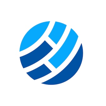 Globales netzwerk logo