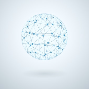 Globales netzwerk-symbol