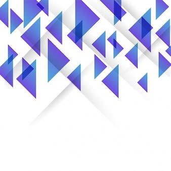 Glossy dreiecke, abstrakten hintergrund für broschüre, flyer oder präsentationen design, vektor-illustration.