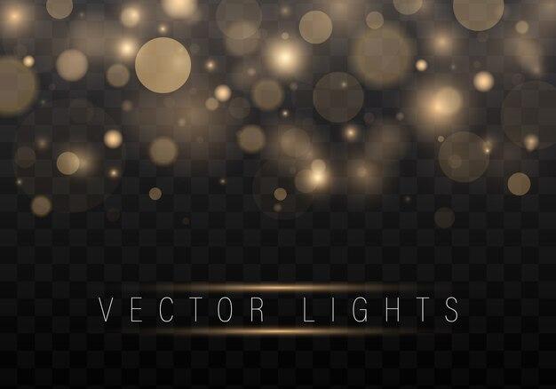 Glow lichteffekt. stern platzte vor funkeln.