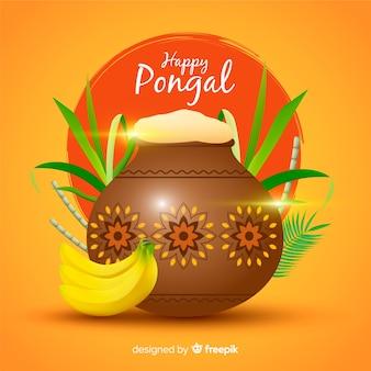 Glücklich Pongal