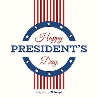 Glücklicher Tag des Präsidenten
