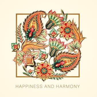 Glück und harmonie