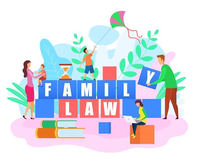 Glückliche familie bauen