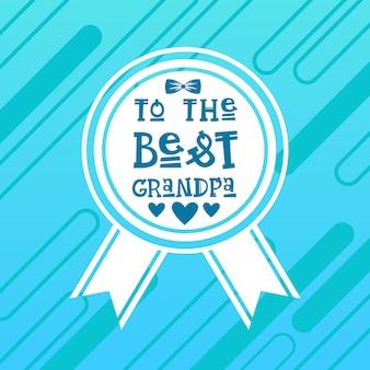 Glückliche großeltern-tagesgruß-karten-fahne