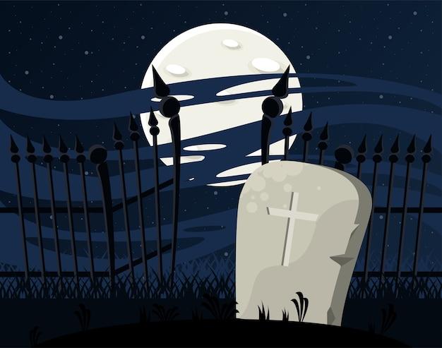 Glückliche halloween-feierkarte mit.