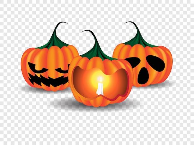 Glückliche halloween-plakat-illustration