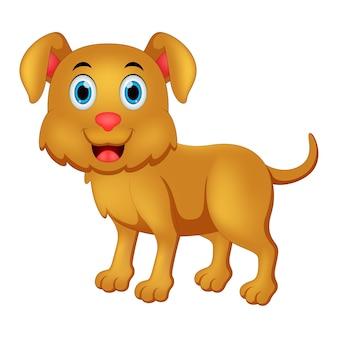 Glückliche hundeillustration