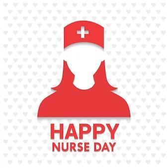 Glückliche krankenschwester-tag