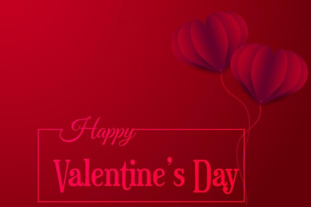 Glückliche valentinsgrußtagesvektorgrußkarte