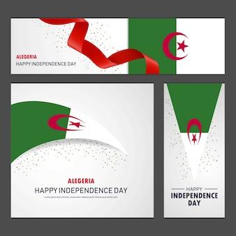 Glücklicher alegeria-unabhängigkeitstag