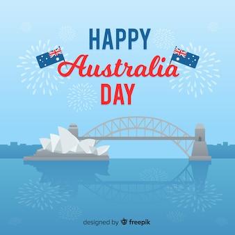 Glücklicher australischer tag
