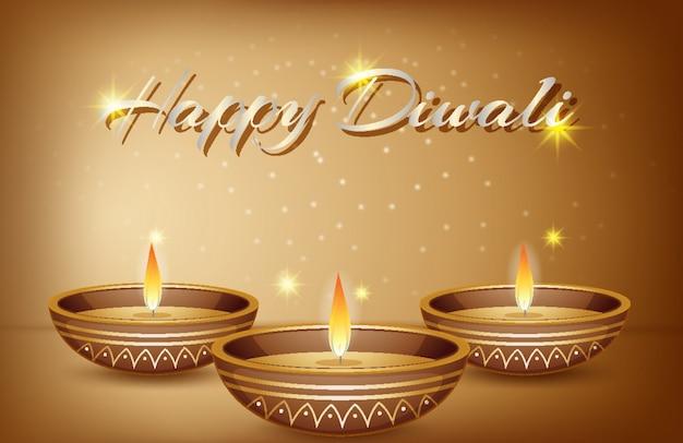 Glücklicher diwali gruß