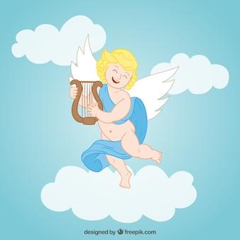 Glücklicher engel