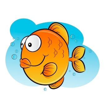 Glücklicher fisch
