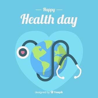 Glücklicher gesundheitstag