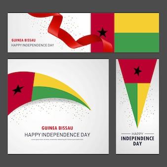 Glücklicher guinea bissau-unabhängigkeitstag