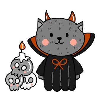 Glücklicher halloween-vektor.