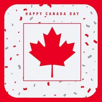 Glücklicher kanada-tag gruß