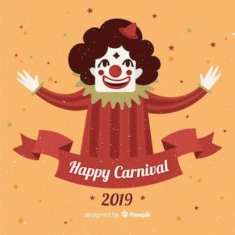 Glücklicher karneval 2019