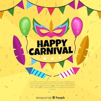 Glücklicher karneval