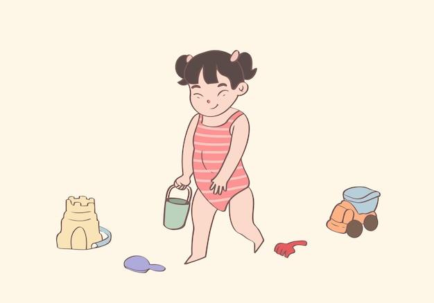 Glücklicher kindertag und kindheitskonzept