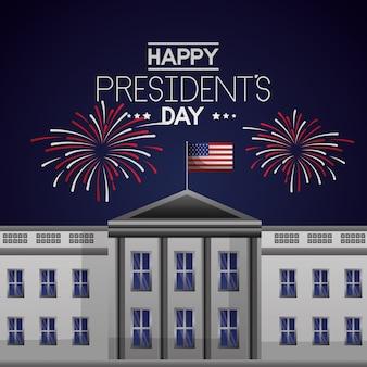 Glücklicher präsidententag