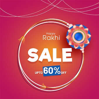 Glücklicher raksha bandhan-feierhintergrund.